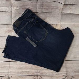 Lane Bryant low rise straight jeans